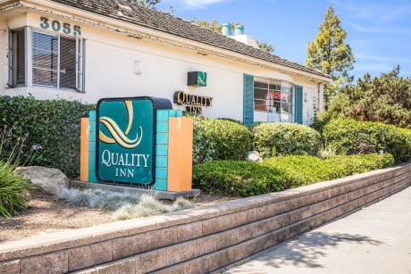 Welcome To The Quality Inn Santa Barbara - Quality Inn Santa Barbara Exterior