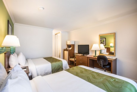 Quality Inn Santa Barbara: Queen Bed, Double Bed