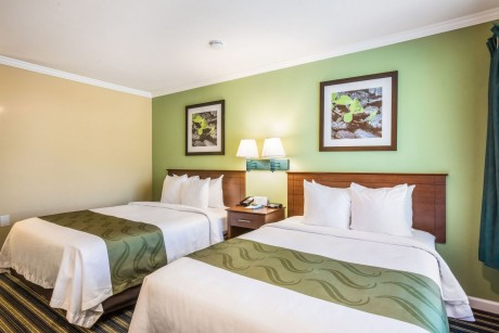 Welcome To The Quality Inn Santa Barbara - Queen Bed, Double Bed